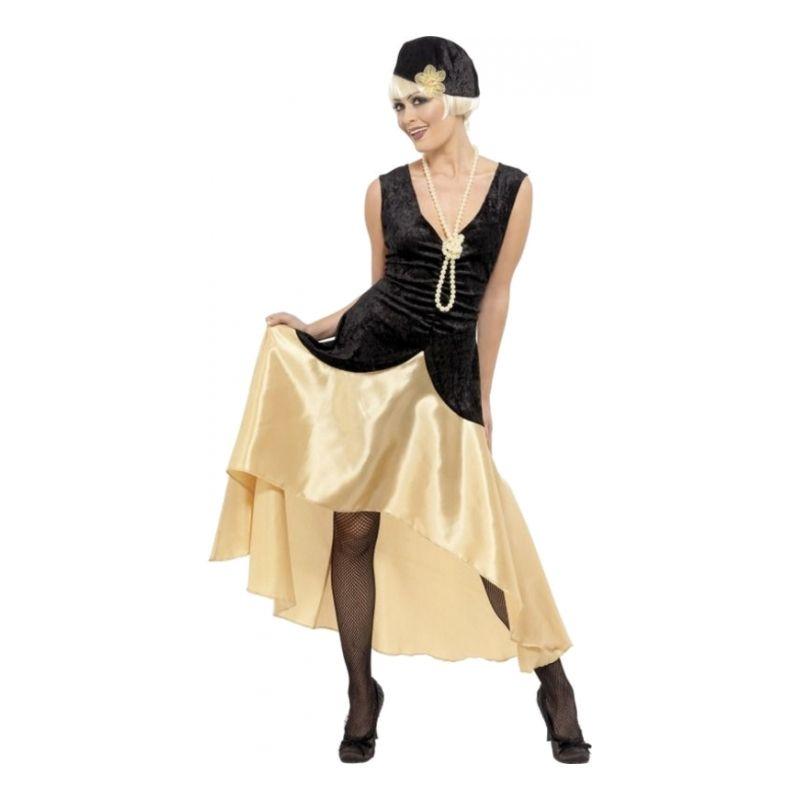 Bild på 20-tals Gatsby Girl Maskeraddräkt - Medium