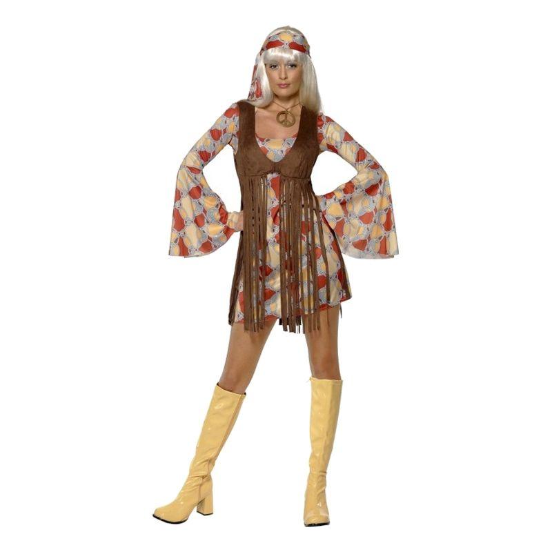 Bild på 70-tals Hippie Maskeraddräkt - Small