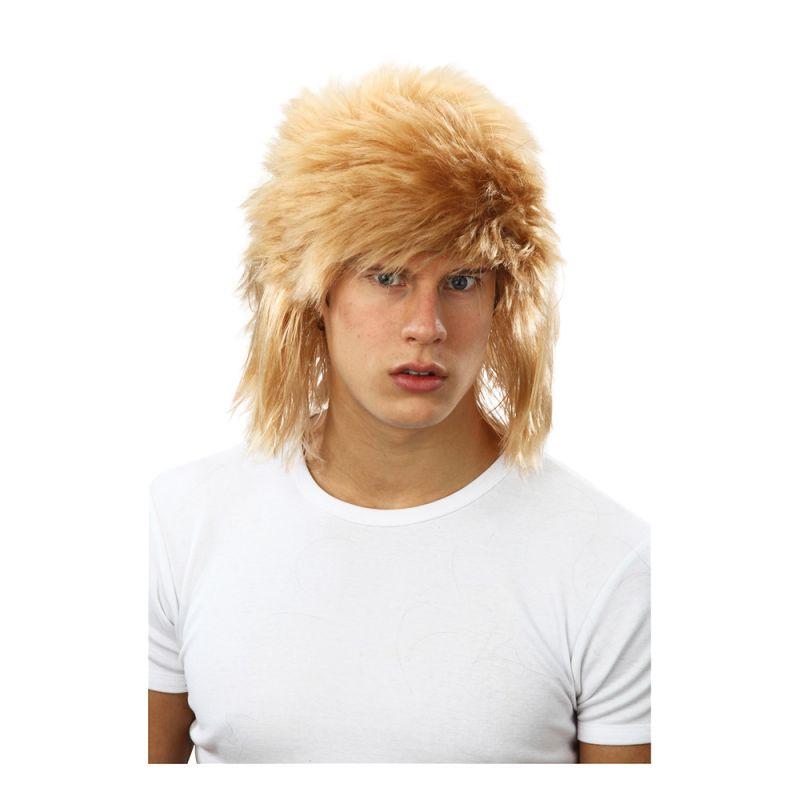 Bild på 80-tals Blond Peruk - One size