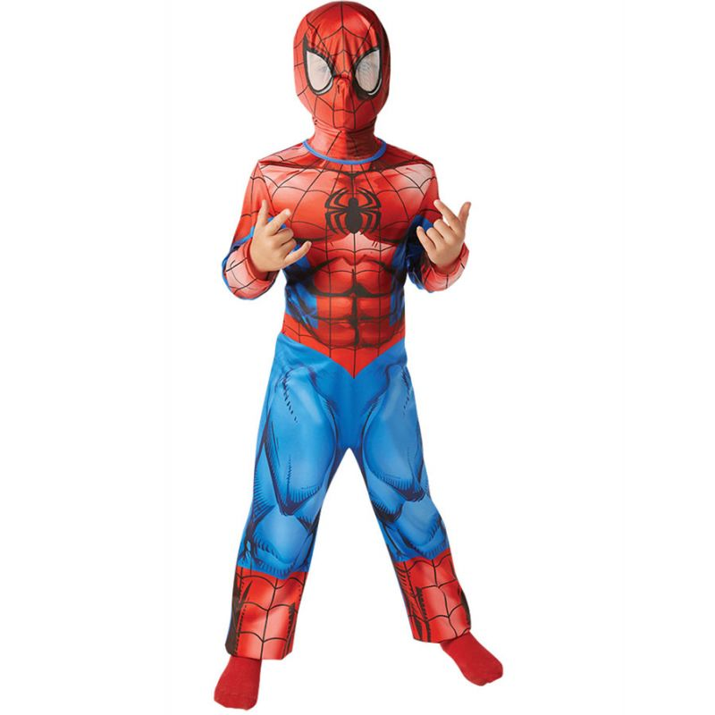 Bild på Animerad Spindelmannen Dräkt Barn (Small (3-4 år))