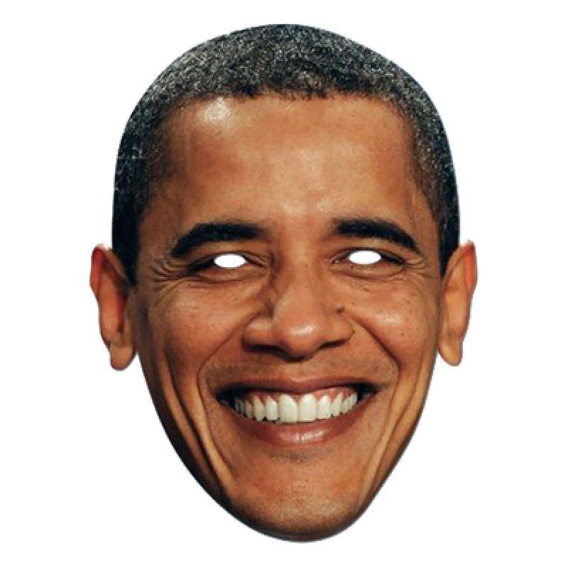 Bild på Barack Obama Pappmask - One size