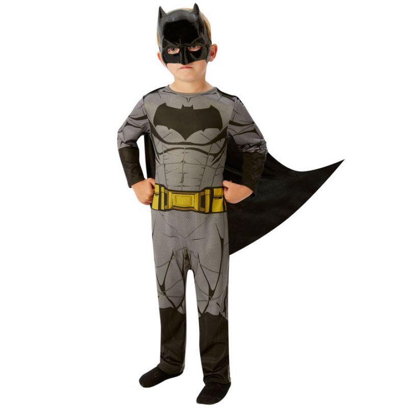 Bild på Batman Dawn Of Justice Maskeraddräkt Barn Small
