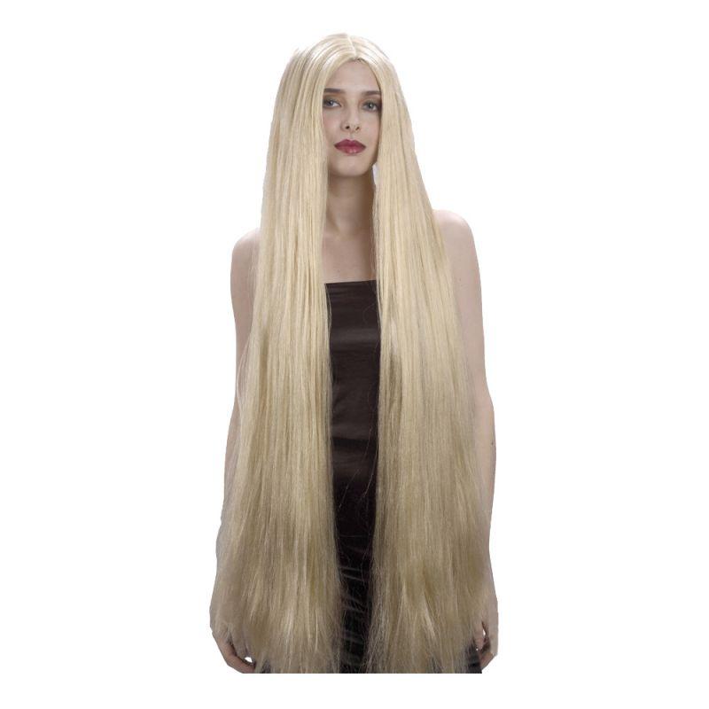 Bild på Blond Extra lång Peruk - One size