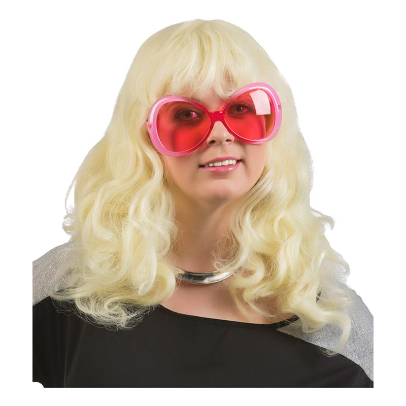 Bild på Blond Vågig Peruk - One size