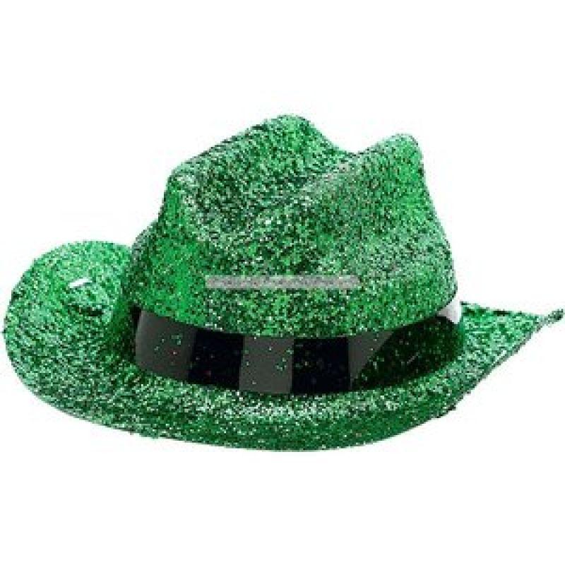 Bild på Cowboyhatt mini grönglittrig