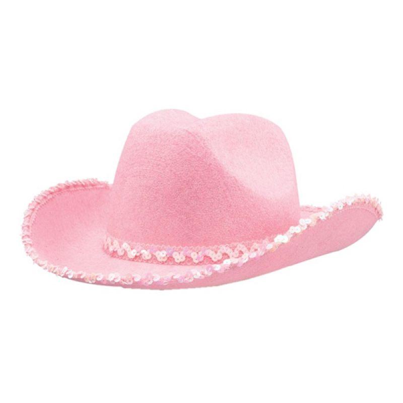Bild på Cowboyhatt Rosa - One size
