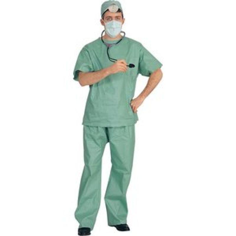 Bild på Doktor Grön maskeraddräkt