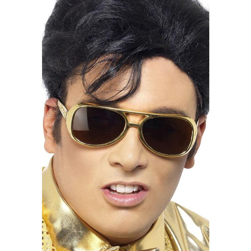 Bild på Elvis Guld Glasögon