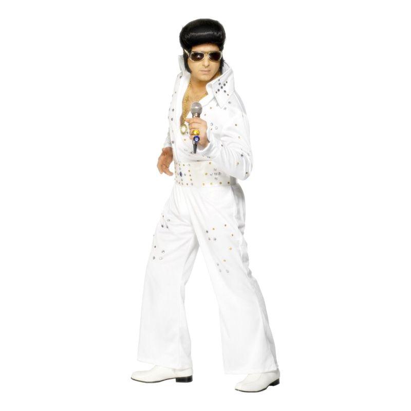 Bild på Elvis Las Vegas Maskeraddräkt - Medium