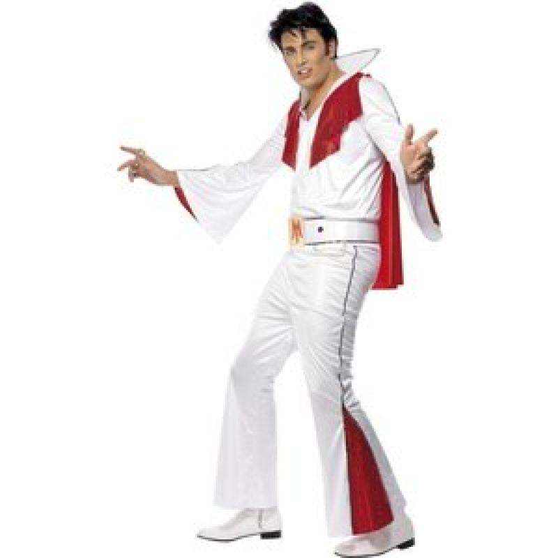 Bild på Elvis maskeraddräkt, vit
