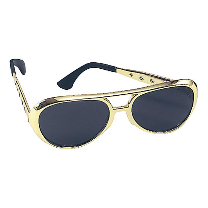 Bild på Elvis Solglasögon - Guld