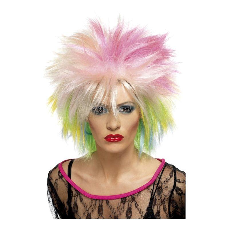Bild på Flerfärgad Punkperuk - One size