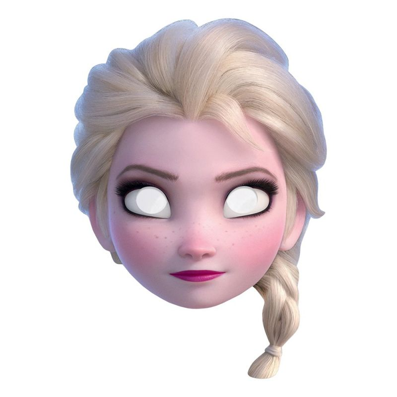 Bild på Frozen 2 Elsa Pappmask - One size