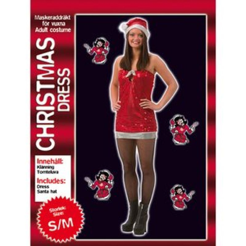 Bild på Glittrig julklänning maskeraddräkt