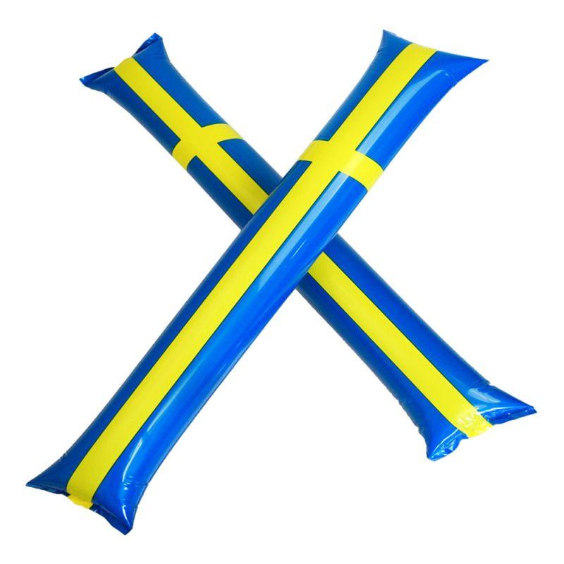 Bild på Handklappor Sverigeflagga - 2-pack