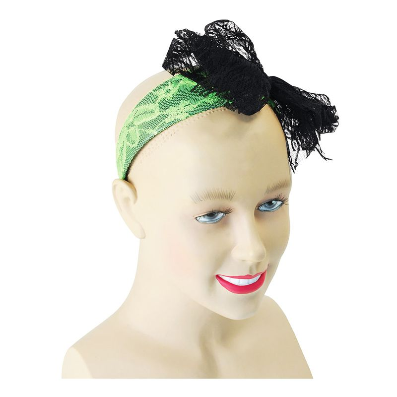 Bild på Hårband med Rosett Grön - One size