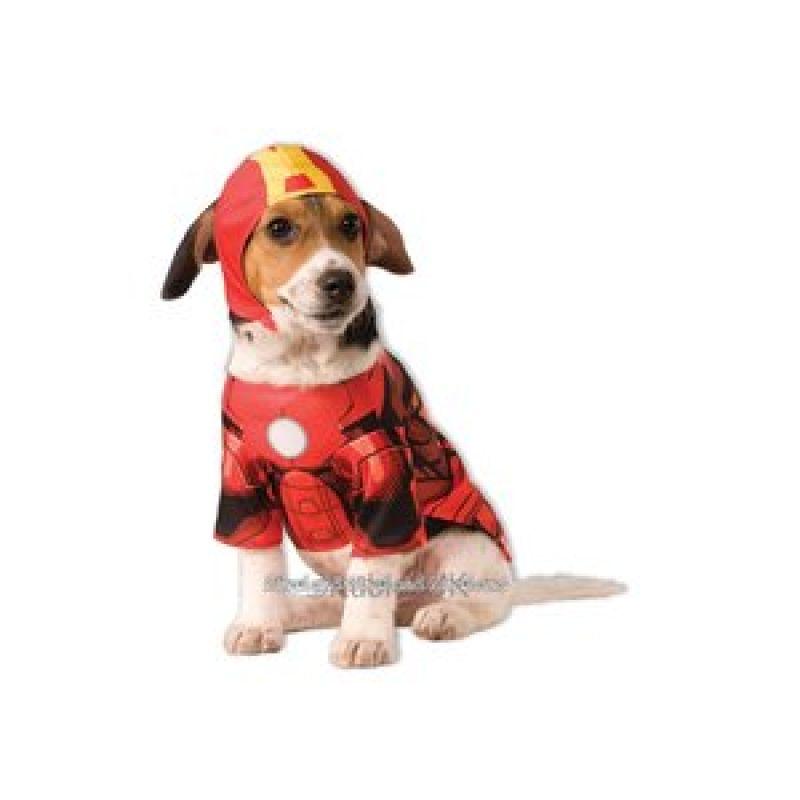 Bild på Iron Man hundmaskerad