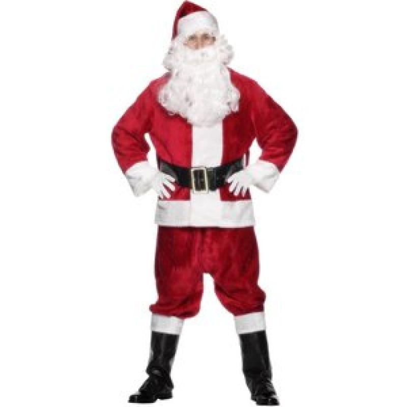 Bild på Jultomte klassisk delux - maskeraddräkt