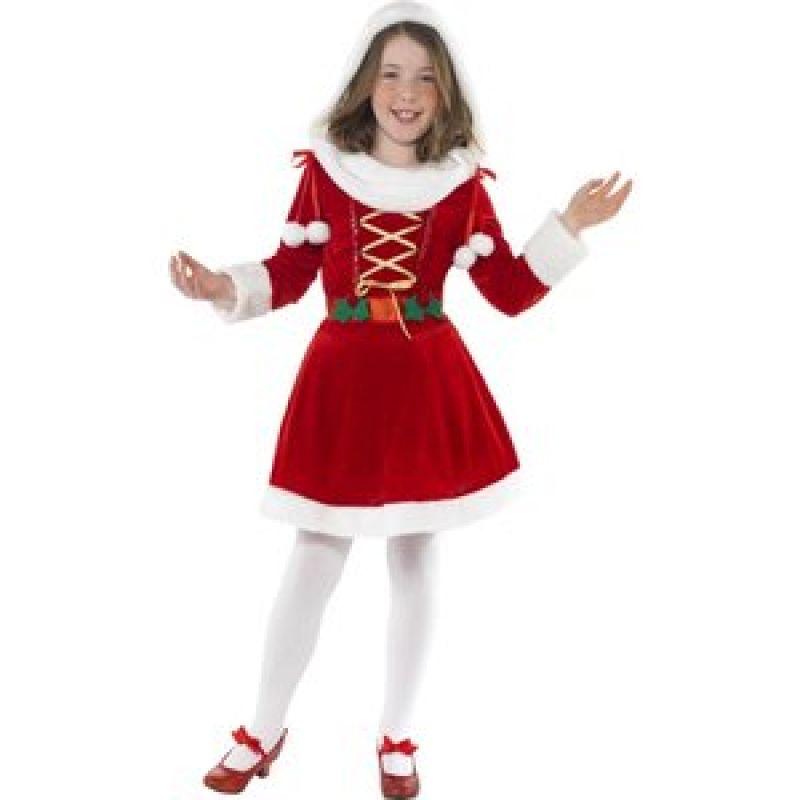 Bild på Jultomte maskeraddräkt liten tjej
