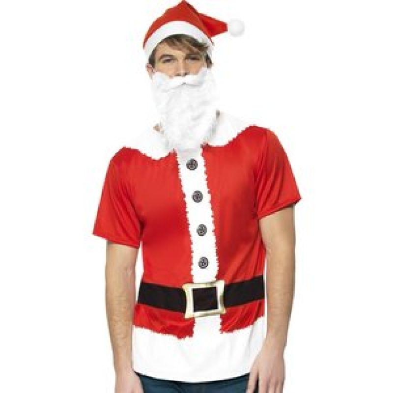 Bild på Jultomte set maskeraddräkt - Medium