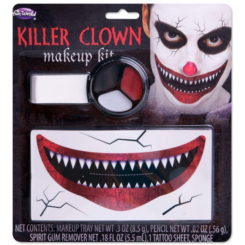 Bild på Killer Clownsmink Set