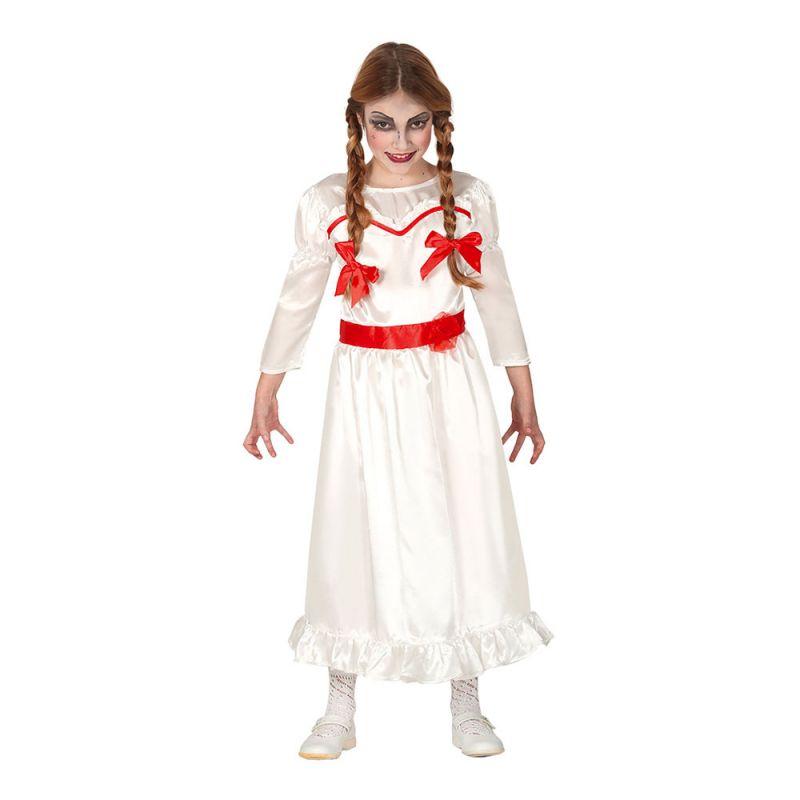 Bild på Läskig Docka Barn Maskeraddräkt - Small