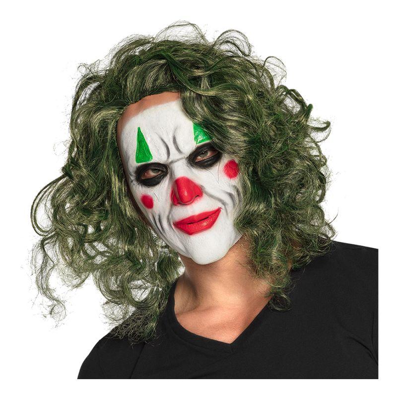 Bild på Latexmask The Villain med Hår - One size