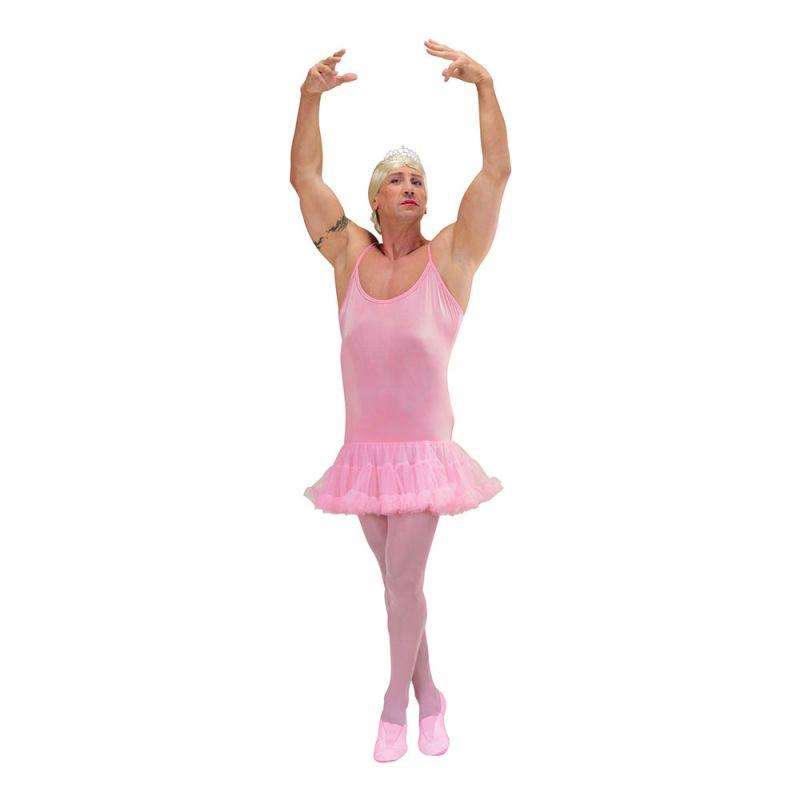 Bild på Manlig Ballerina Rosa Maskeraddräkt - One size