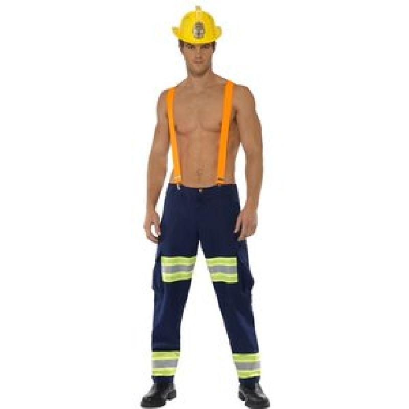 Bild på Manlig brandman maskeraddräkt - Medium
