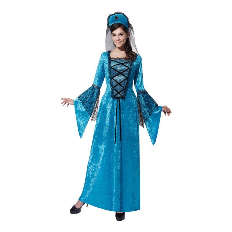 Bild på Medeltids Prinsessa Maskeraddräkt - One size