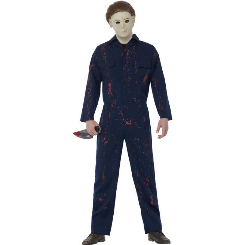 Bild på Michael Myers Halloween Maskeraddräkt Medium