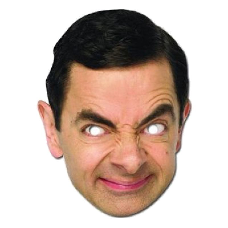 Bild på Mr Bean Pappmask - One size
