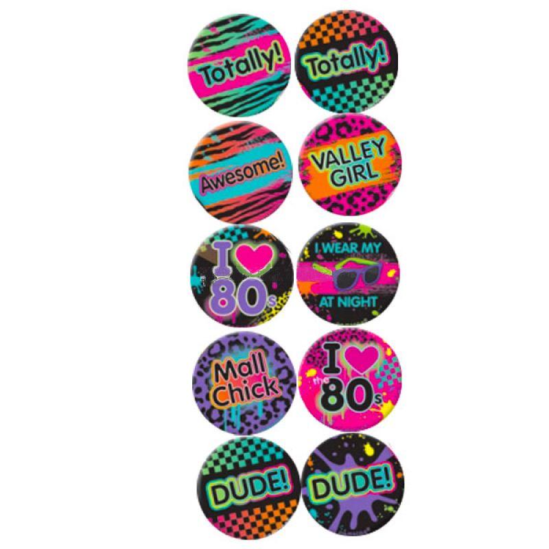 Bild på Neon 80-tal Märke 10-pack
