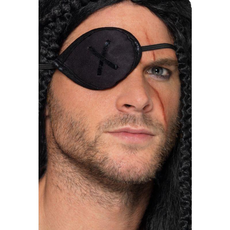 Bild på Ögonlapp Pirat Svart