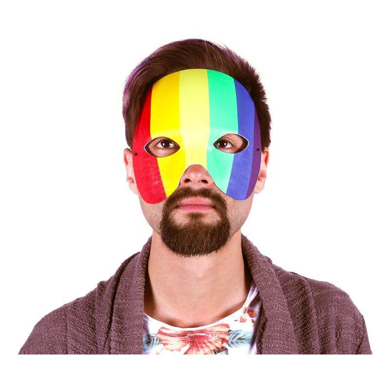 Bild på Ögonmask Regnbågsfärgad - One size