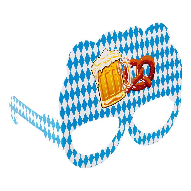 Bild på Oktoberfest Pappersglasögon - 10-pack