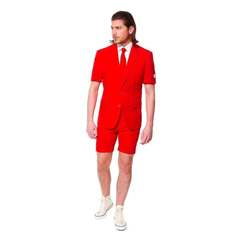 Bild på OppoSuits Red Devil Shorts Kostym - Strl 46