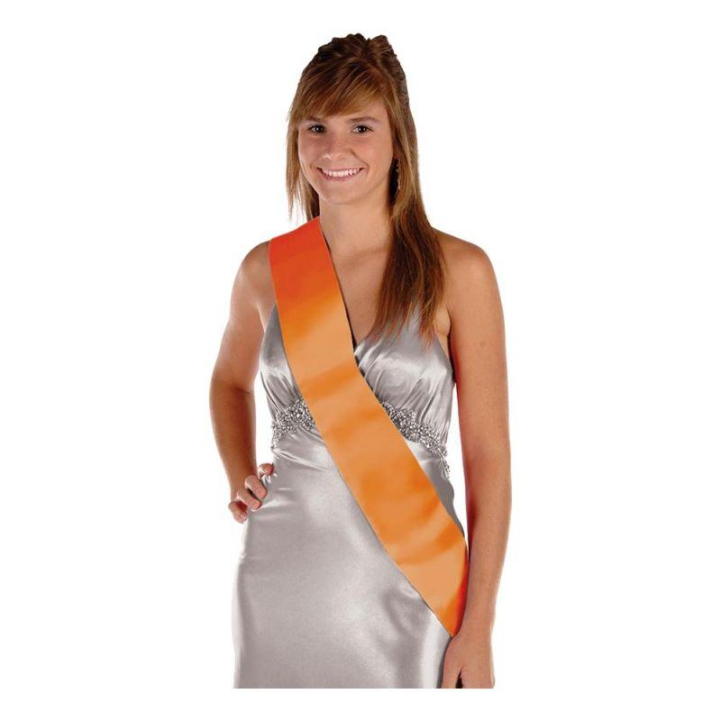 Bild på Ordensband Blankt - Orange