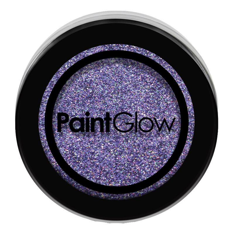 Bild på PaintGlow Nagelglitter - Violet