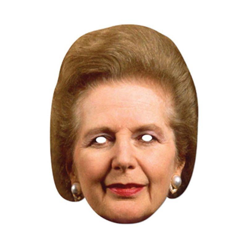 Bild på Pappmasker Margaret Thatcher