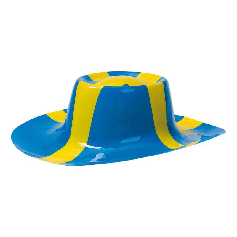 Bild på Plasthatt Sverigeflagga - One size
