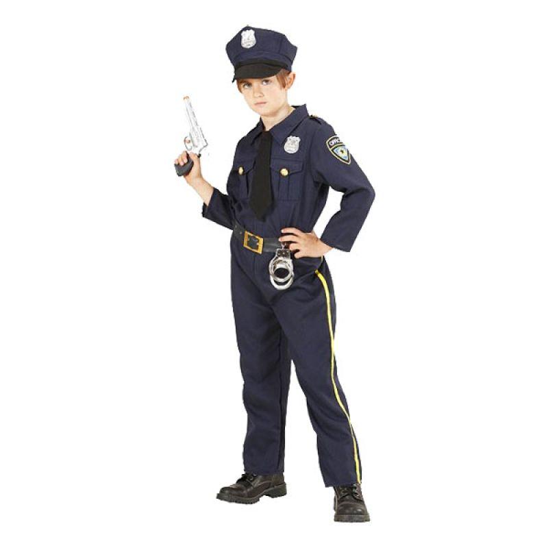 Bild på Polis Barn Maskeraddräkt - Small