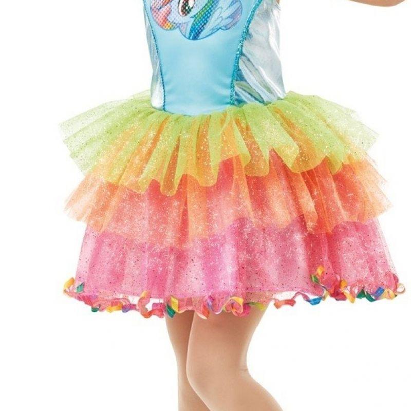 Bild på Rainbow Dash Deluxe, Maskeraddräkt Barn - Small