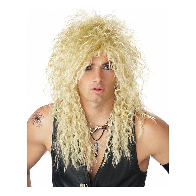 Bild på Rockare Blond Peruk - One size