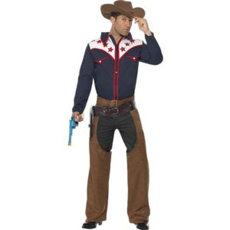 Bild på Rodeo cowboy maskeraddräkt