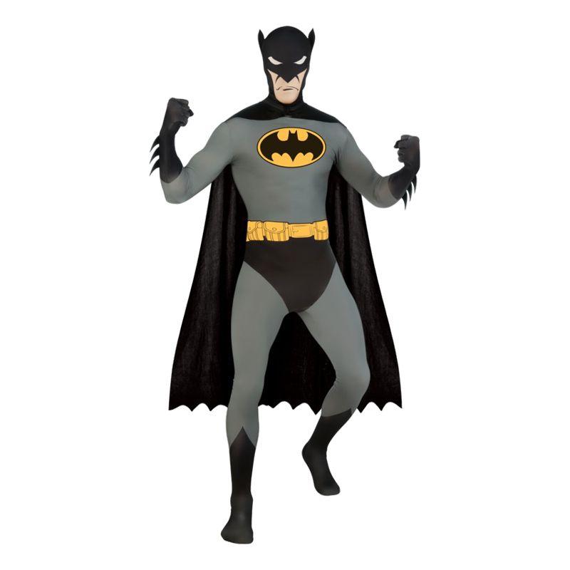 Bild på Second Skin Batman Maskeraddräkt - Medium