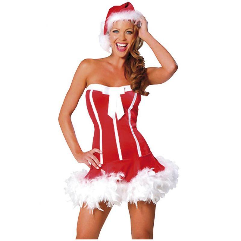 Bild på Sexy Santa Girl Maskeraddräkt