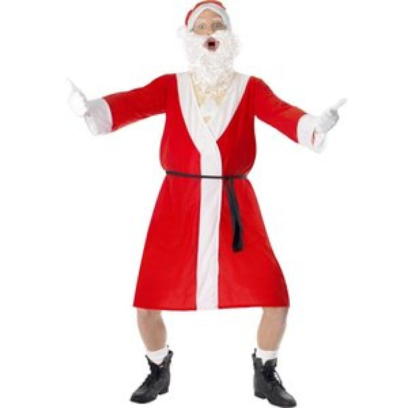Bild på Sjaskig jultomte maskeraddräkt - Medium