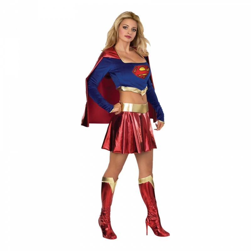 Bild på Söt Supergirl Maskeraddräkt - X-Small