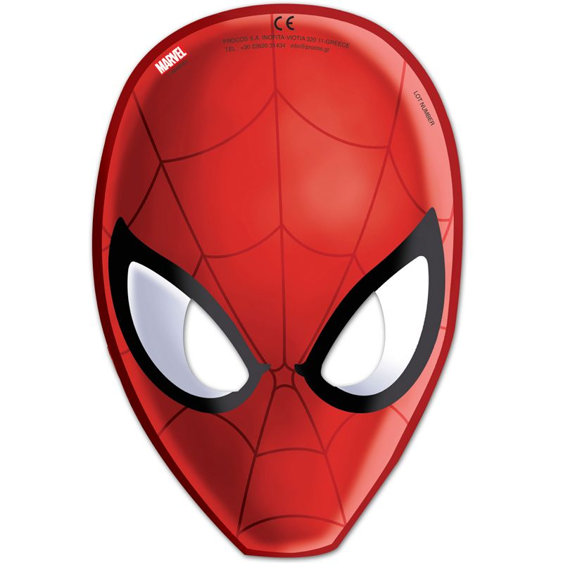 Bild på Spider-Man Web Warriors, Masker 6 st